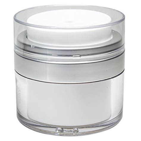 Botol Import Silver 15 Ml Airless airless jar silver matte 0 50 oz import it all