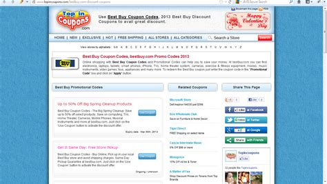Best buy coupon codes bestbuy com promo codes 2013 used to get more