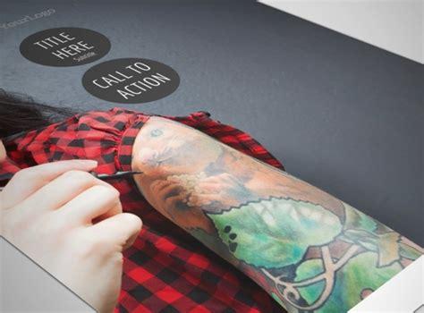 tattoo flyer maker tattoo body piercing flyer template