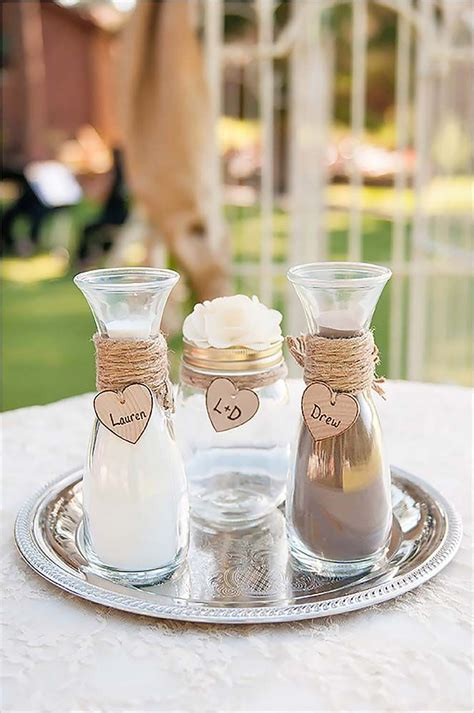 Wedding Ceremony With Sand by Best 20 Wedding Sand Ceremony Ideas On