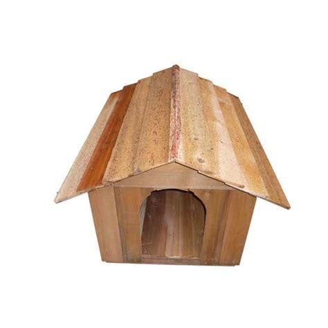 dog house kit small cedar doghouse kit