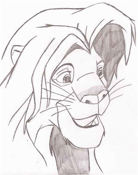 drawing and painting for adults simba commission by fapingmulan on deviantart