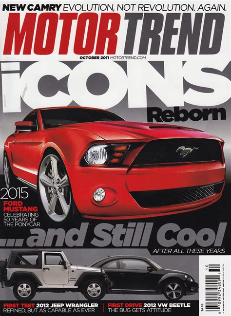 motor trend cover 10 best magazine subscriptions for car fans gearheads
