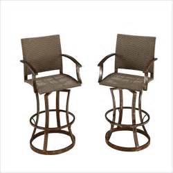 Patio Bar Chairs by Home Styles Urban Outdr Swivel Stool Aged Outdoor Bar