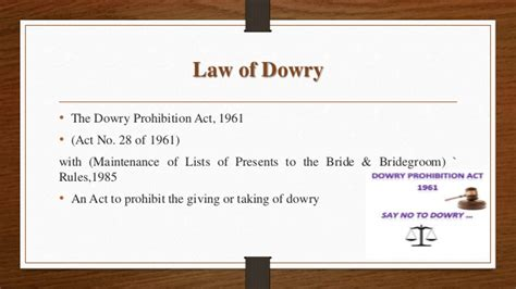 dowry as a social problem