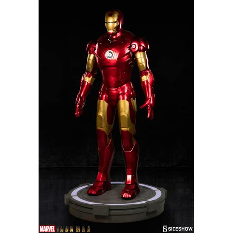 marvel iron man mark vii life size bust by sideshow iron man mark iii life size figure