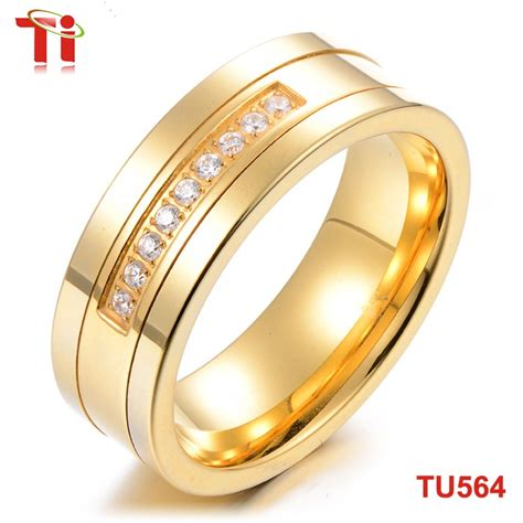 Wedding Ring Design In Saudi by 8mm Inlaid Gold Ring Design For Tungsten Carbide