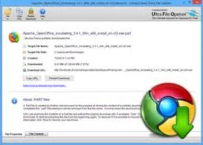 open chrome crdownload file ultra file opener