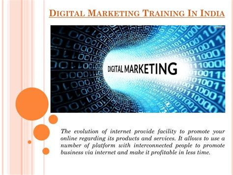 Digital Marketing Classes 1 by Ppt Digital Marketing In India Powerpoint