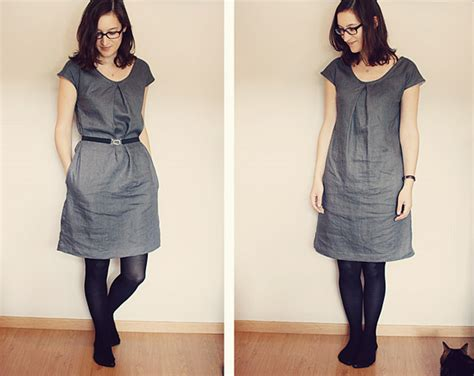 pattern for simple linen dress sorbetto dress little home by hand