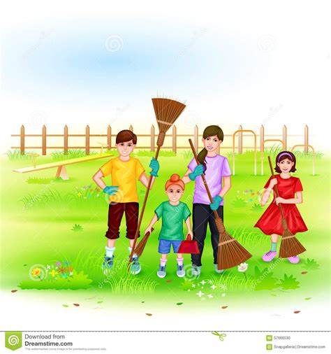 St Kid Mijean Bahan Wash 50 cleaning the garden clipart clipartxtras