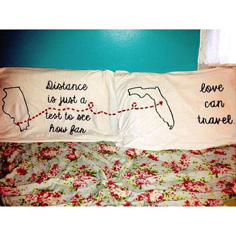 personalized pillow cases for a loved one that is far away