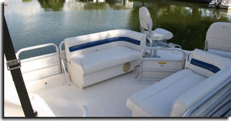 hurricane deck boat seats welcome to custom upholstery showcase gallery