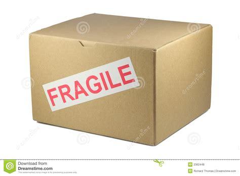 fragile box royalty  stock  image