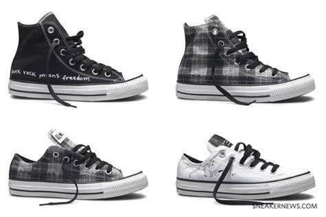 Kurt Cobains Converse Shoe Line by Kurt Cobain X Converse Chuck All 2010