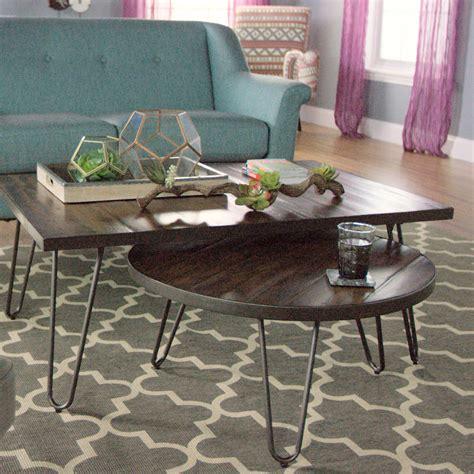 hairpin coffee table wood hairpin coffee table market