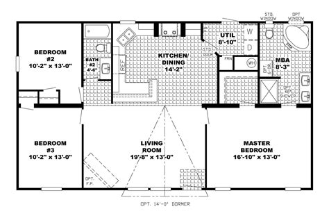 floor plan for ranch style home open floor plan ranch house plans 2017 house plans and