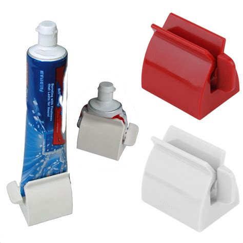 High Quality Bathroom Accessories Rolling Toothpaste Squeezer Toothpaste Easy Dispenser Seat Holder Stand Bathroom
