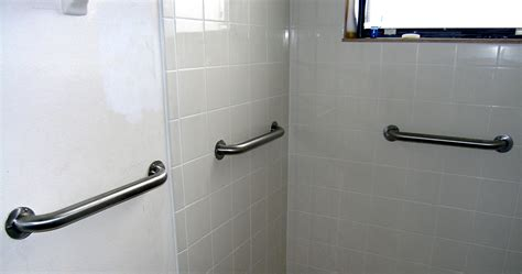 bathroom handicap rails remodelled bathroom gallery schoeman enterprises
