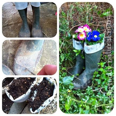 Welly Boot Planter by Imperfectly Welly Boot Planters