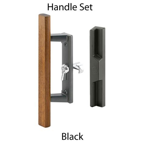 Sliding Patio Door Handle Set Handle Set Sliding Patio Door Lock Black