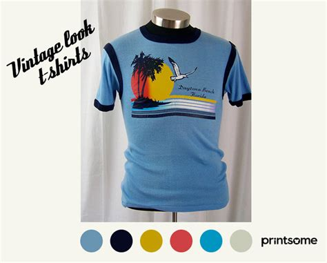 Tshirt Insight Printing how to design vintage looking t shirts printsome style