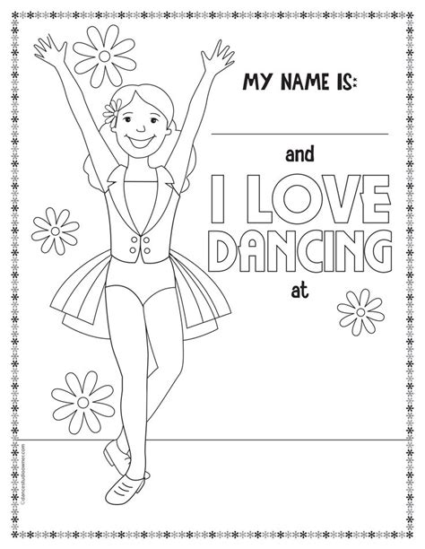 Dance Coloring Pages Free Printable | get free printable dance coloring pages coloring pages