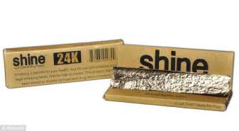 How To Make Rolling Paper - would you smoke a cigarette made of 24k gold the 65