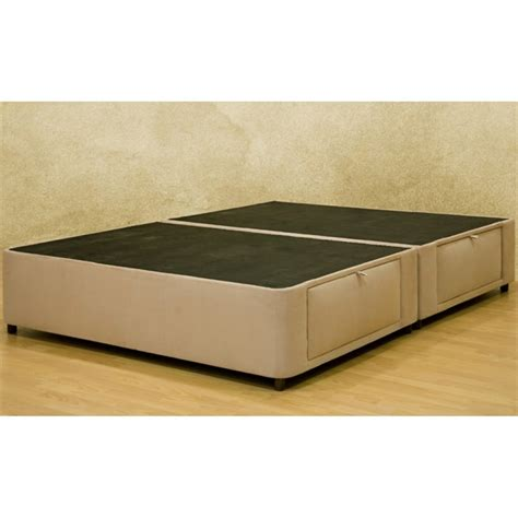 size bed with storage size charcoal microfiber upholstered platform bed