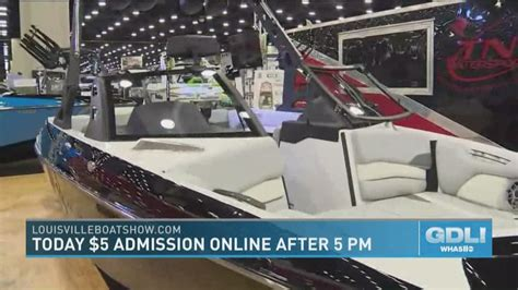 louisville boat show louisville boat rv and sportshow 2019 whas11