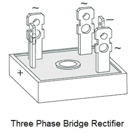 three phase diode bridge rectifier rectifiers