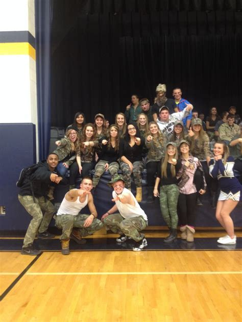 basketball student section themes camo theme school spirit game theme high school