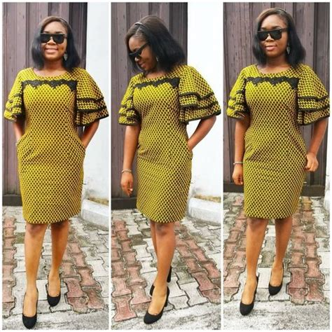 short kente styles check out the scintillating short ankara gown styles