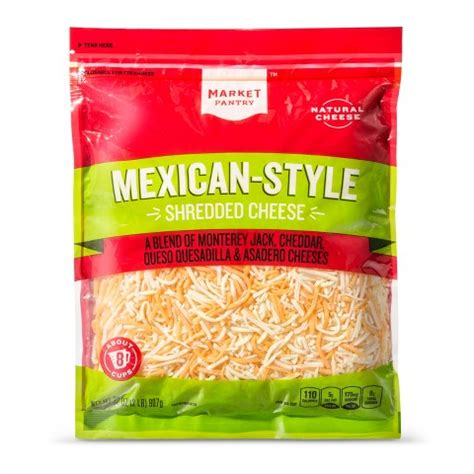 Mexican Pantry by Market Pantry Shredded Mexican Style Four Cheese Target
