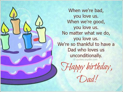 Birthday Quotes For Dads Happy Birthday Dad Quotes Quotes And Sayings