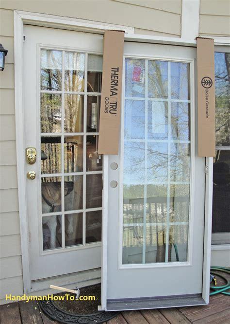 prehung exterior door with screen steves sons 36 in x 80