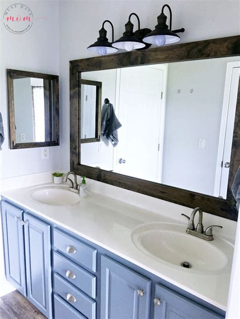 Bathroom Mirror Styles Best 25 Bathroom Vanity Mirrors Ideas On Pinterest Bathroom Mirrors Blue Bathroom Vanity And