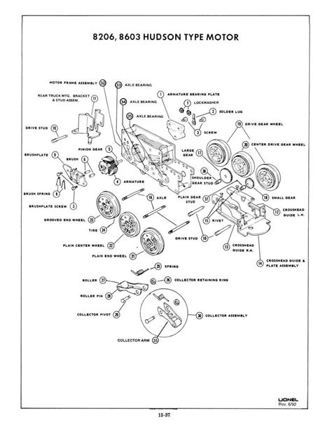lionel parts list and exploded diagrams american flyer locomotive wiring diagrams american flyer
