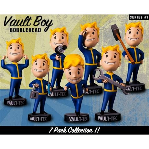 fallout 7 bobblehead fallout 4 vault boy 111 bobbleheads series one set of 7