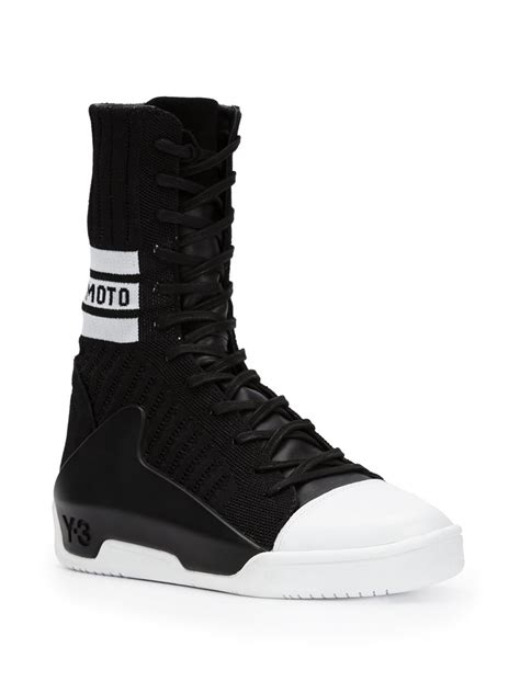 sneaker guards y 3 hayworth guard sneakers in black for lyst