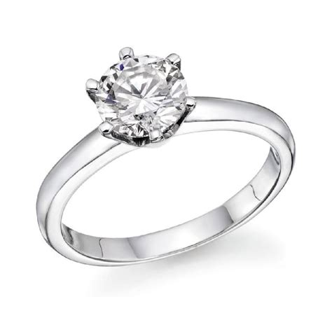 1 2 ct solitaire engagement ring in 14k