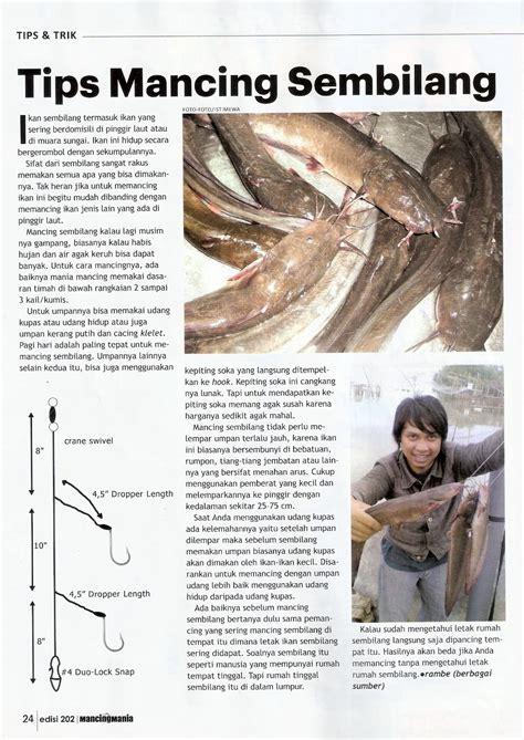 Pancing Mancing Mania teknik mancing ikan sembilang surga dunia pancing mancing