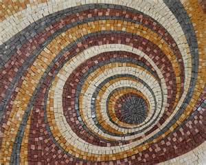photo mosaic layout geometric spiral pattern mosaic murals mozaico