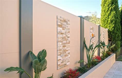 Backyard Feature Wall Ideas Outdoor Goods Backyard Feature Wall Ideas