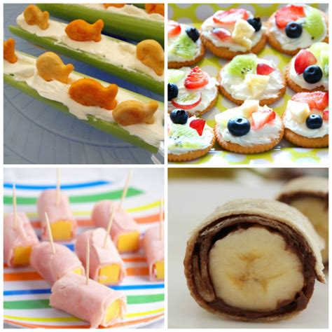 ideas kindergarten snacks no cook snack ideas