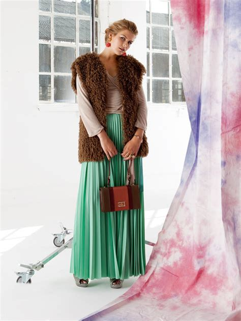 pleated maxi skirt plus size 01 2013 135 sewing
