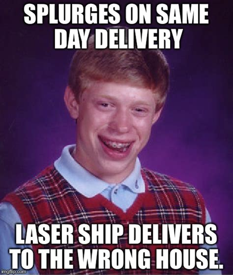 Delivery Meme - the package wasn t found and delivered until five days