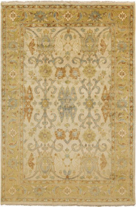 butter rugs surya surya hillcrest hil 9020 butter green area rug clearance 106481