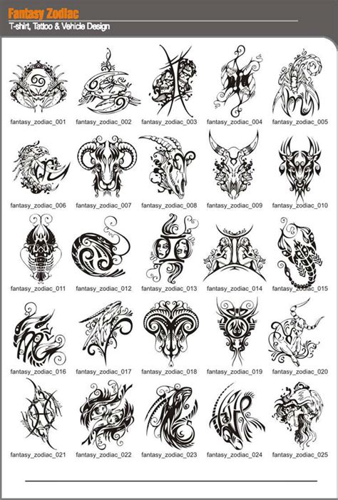 tattoo ideas zodiac signs fantasy zodiac tattoo designs tattooshunt com