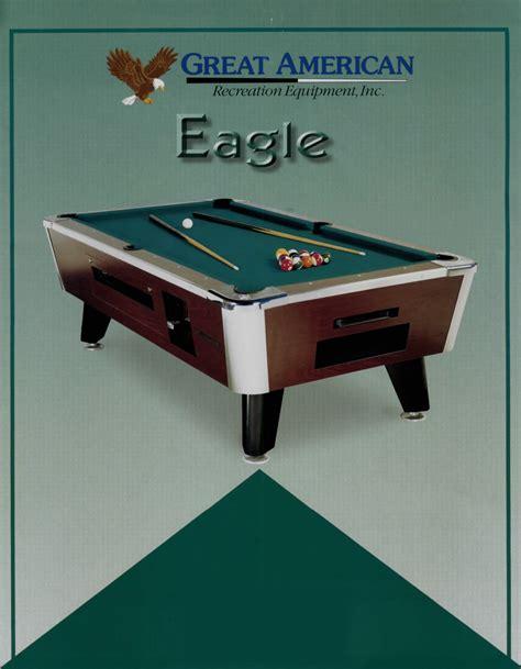 Digital Pool Table by Great American Eagle Pooltable Return Ownajukebox